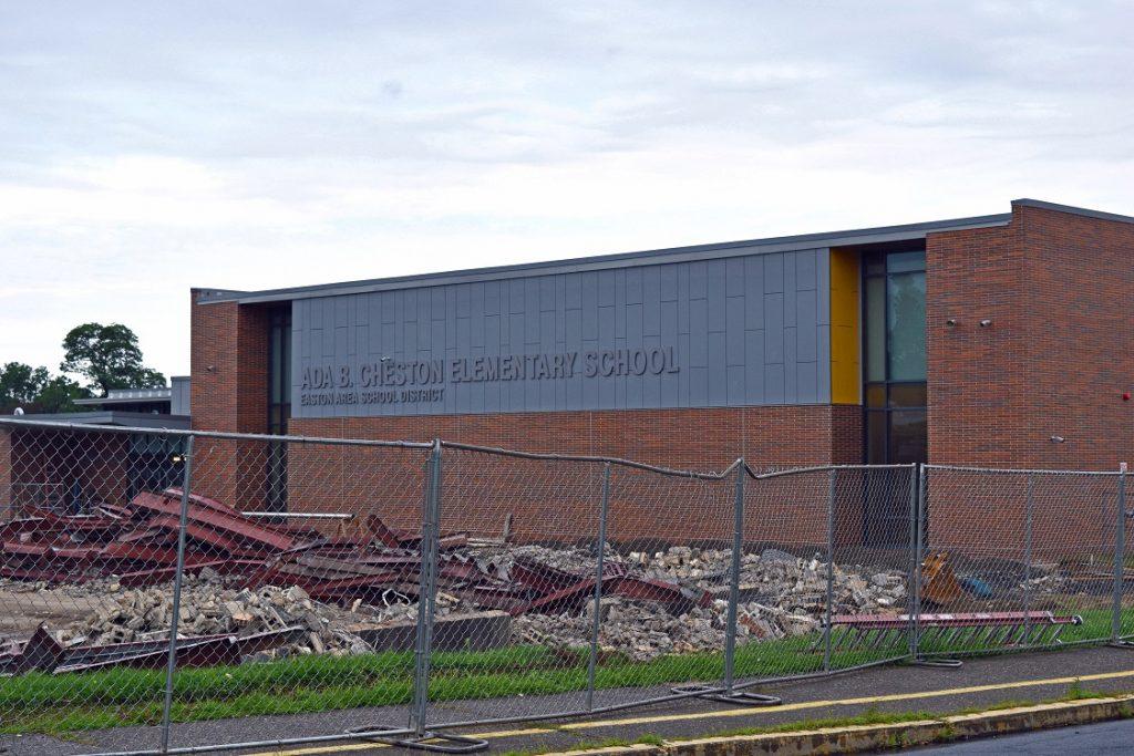 The newly built Ada B. Cheston Elementary School
