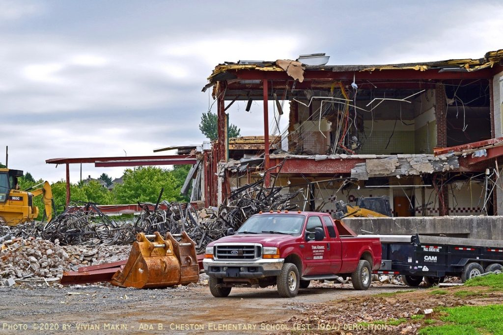 Demolition of Cheston Elementary School