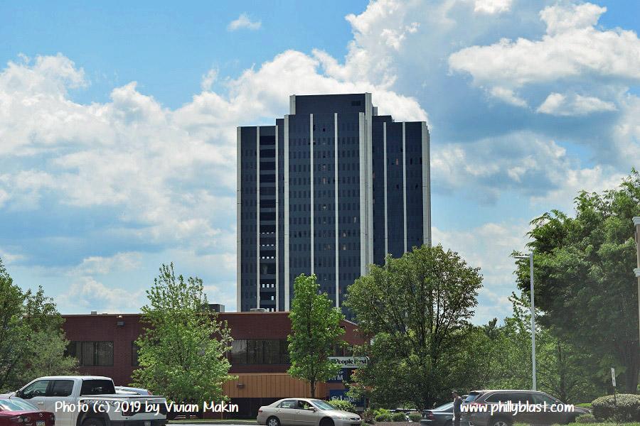 Martin Tower as viewed from Wawa